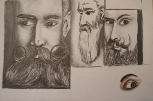 Mustache study