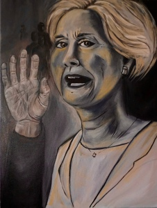 Horror Hillary (to purchase poster prints click image)